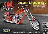 Custom Chopper Set RM Kustom Motorrad Bike 1:12 Model Kit Bausatz Revell 7324