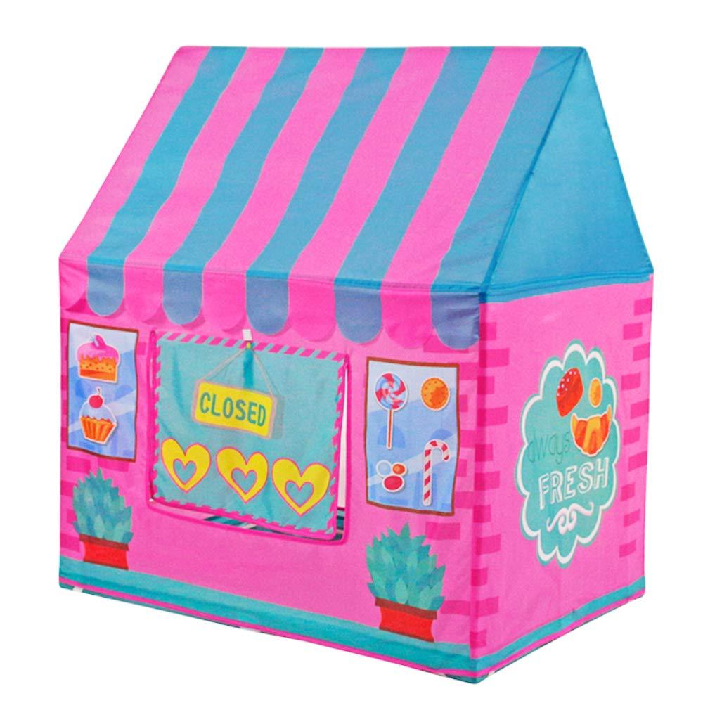 ACTNOW Tienda campaña Infantil para niños/casa de Juego - Color Rosa: Amazon.es: Hogar