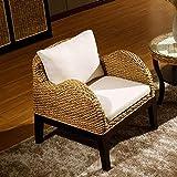 QQXX BalconyLeisureWicker Chair, Table basseTable et Table de Jardin d'extérieur,...