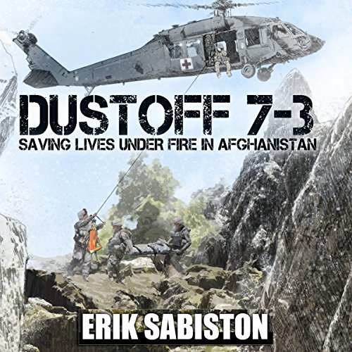 Dustoff 7-3 audiobook cover art