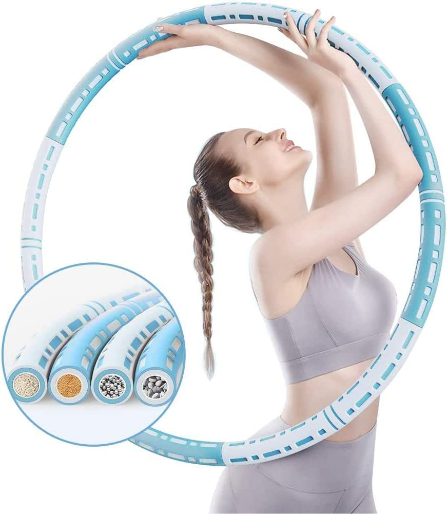 OUYES Cheap SALE Start Ranking TOP12 Weighted Exercise Hoop for Steel Adults Stainless Kids