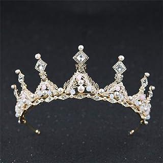 FELICILII Gioielli da Sposa Corona di Strass Fatti a Mano da Sposa Corona da Sposa