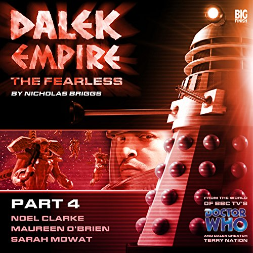 Couverture de Dalek Empire - The Fearless Part 4