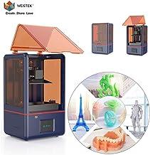 WEISTEK LCD 3D Printer with Parallel Matrix 405nm Light, 5.5inch 2K Screen, Z-axis Dual Linear Rail & Off-line Print 4.72i...