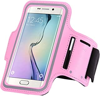 Mixneer for Galaxy A3 2016 Case, Personalized Luxury Shatter-Resistant Phone Case Waterproof Sports Running Arm Band Case for Samsung Galaxy A3 2016 - Pink