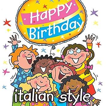 Happy Birthday - Italian Music Style