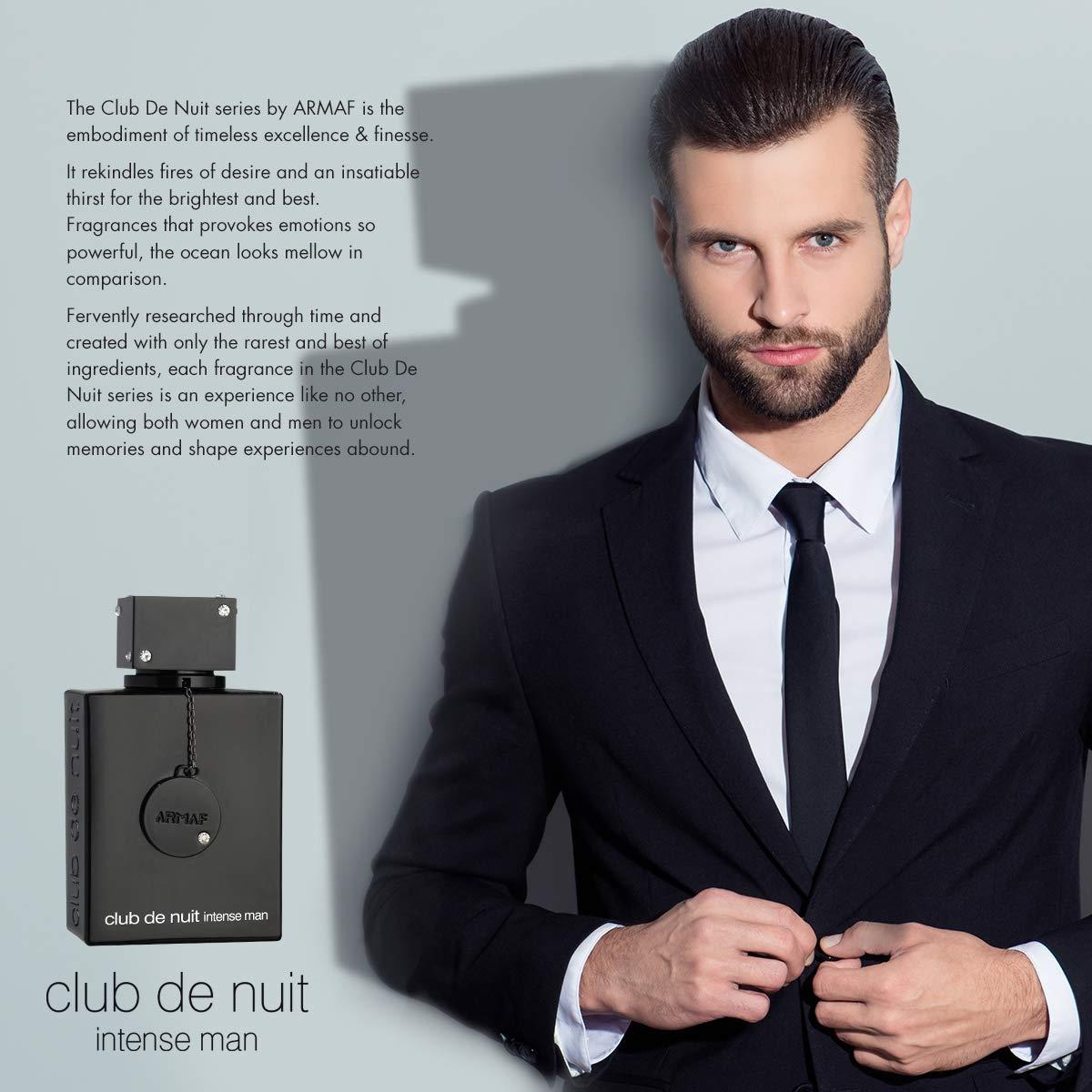 Armaf Club De Nuit Intense Man EDT Men New in Box, Black , 3.6 Fl Oz
