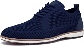 Mens Casual Oxford Shoes Mesh Wingtip Dress Shoes Breathable Lightweight Sneakers Outdoor Walking Shoes