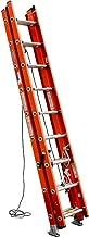 Werner, D6224-3, Extension Ladder, Fiberglass, 24 Ft, Ia