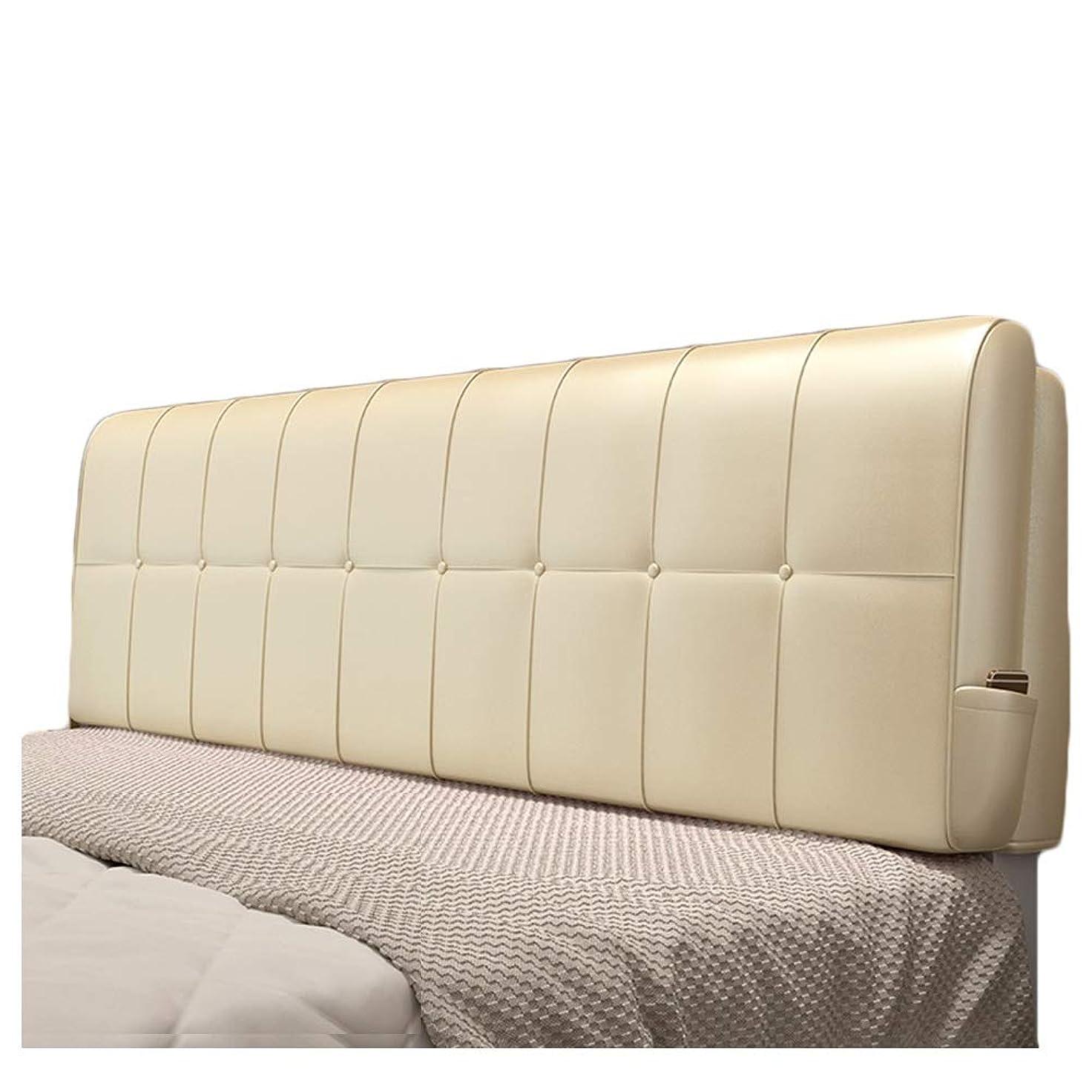 劣るに対して座標WENZHE クッションベッド 床用靠垫 ウェッジ PU スポンジ 背もたれ ホーム 寝室 ソフトケース お手入れが簡単 5色 (Color : C, Size : 150x58cm)