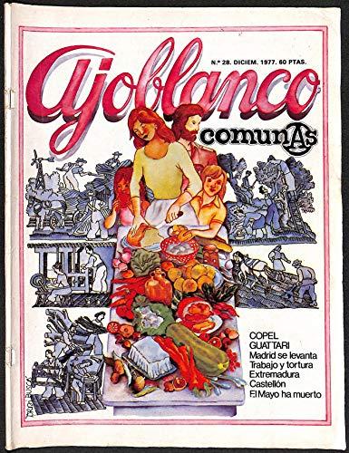 Ajoblanco comunas. Núm 28. Diciembre 1977.