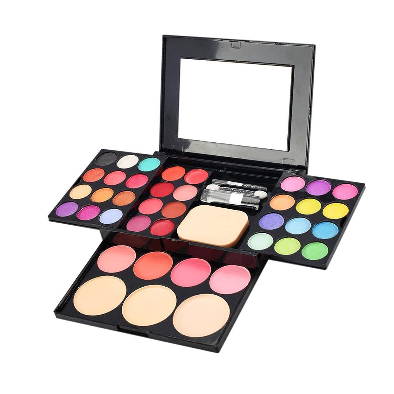 夏ペルセウスエキスFenteer 化粧パレットセット 約39色 化粧品 ブラッシュ パウダー アイシャドウ リップスティック