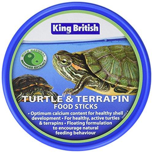 Barritas de comida para tortugas de King British