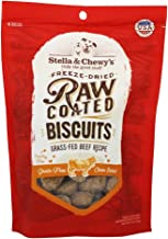 Stella Chewy 9Oz Raw Coated Beef Biscuits