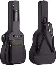 CAHAYA 41 Inch Acoustic Guitar Bag 0.35 Inch Thick Padding Waterproof Dual Adjustable Shoulder Strap Guitar Case Gig Bag w...