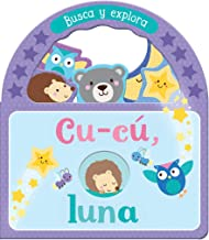 Cu-cú, luna (Children's Take-along Board Book With Peeks and Handle) (Spanish Edition)