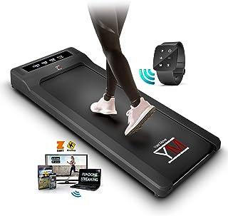 YM Tapis Roulant Elettrico Walking Pad Scrivania App KINOMAP e FITSHOW, Orologio Telecomando Watch Controller, Professiona...