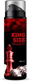 Kingsize Gel – Peniscreme mit Enlargement Effekt (1 Flasche á 100 ml)