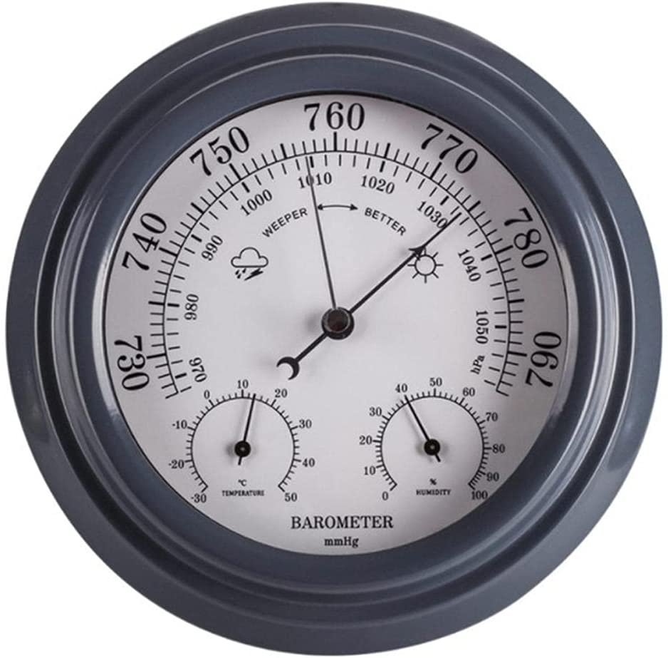 BAWAQAF Barometer Max 53% OFF 3-in-1 Wall-Mounted Household Max 60% OFF Baro
