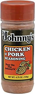 Johnny's Chicken & Pork Seasoning, 4.75-ounce Bottle