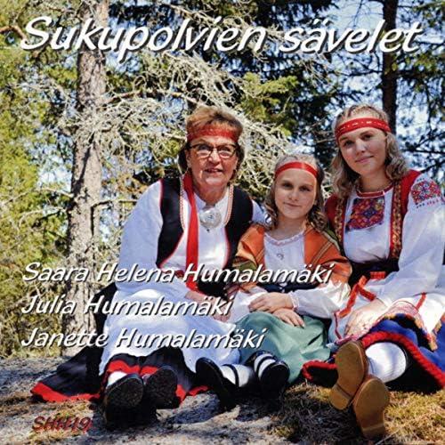 Saara Helena Humalamäki, Julia Humalamäki & Janette Humalamäki