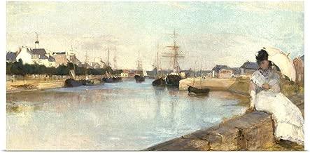 berthe morisot the harbor at lorient