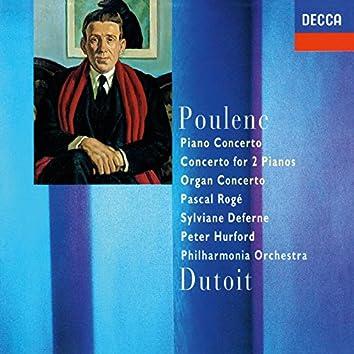 Poulenc: Piano Concerto; Concerto For Two Pianos; Organ Concerto