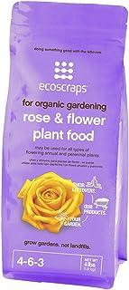 EcoScraps for Organic Gardening Rose & Flower Plant Food, 4 lbs