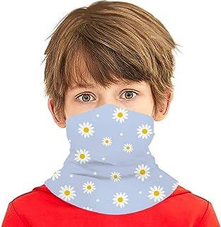 Verctor Daisy Cute Floral Retro Nature Multifunción Headwear Cuello Polaina Balaclava Cubierta Facial para niños
