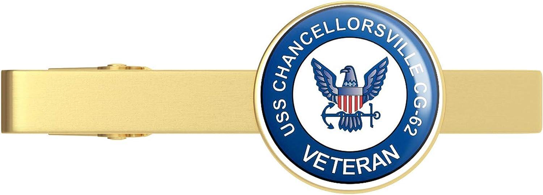 Max 44% OFF HOF Trading US Navy USS Chancellorville V Superlatite Veteran CG-62 Military