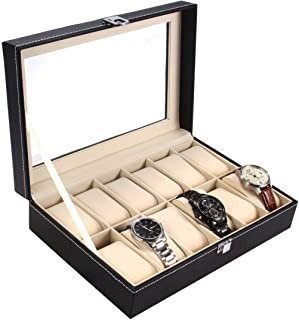clear watch display case