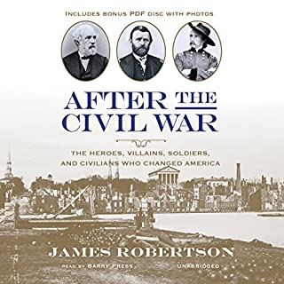 After the Civil War audiobook cover art
