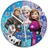 Clementoni 23021.1 - Puzzleuhr 96 T Frozen, Klassische Puzzle