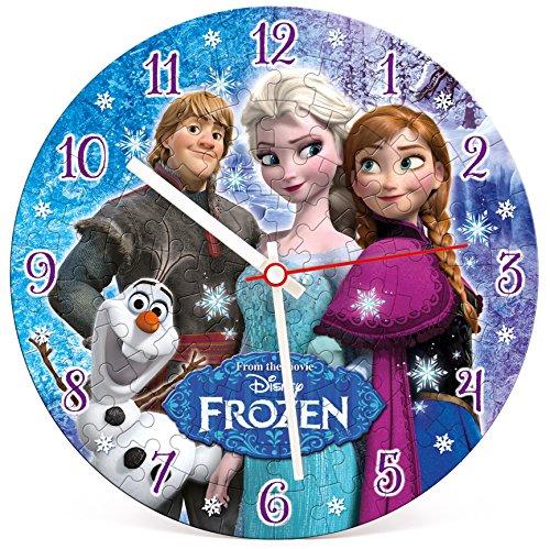 Disney Frozen - Puzzle Clock