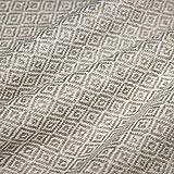 LORENZO CANA Couverture en Laine de 100% Cachemire – Couvre-lit, jeté de canapé ou Plaid - exquise et Douillette en Beige Blanc