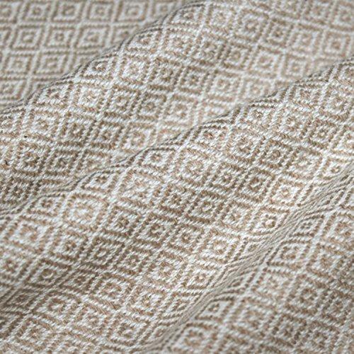 Lorenzo Cana Luxus Kaschmirdecke Kuscheldecke 100% Kaschmir flauschig weiche Wohndecke Decke handgewebt Sofadecke Kaschmirdecke Wolldecke 96176
