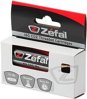 comprar comparacion ZEFAL Co2 16g Blíster 2 Cartuchos, Deportes, Plata