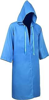 Men Tunic Hooded Robe Cloak Knight Cosplay Costume Cape Adult Wizard Robe Hoodies