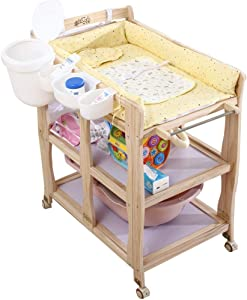 YFQ Baby Changing Diaper Table Change Table Baby Folding Diaper Change Collection Diaper Station Baby Massage Care Table Baby Supplies