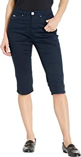 Soft Hues Denim Olivia Pedal Pusher in Navy Navy 10