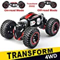 NQD RC Car Off-Road Vehicles Rock Crawler 2.4Ghz Remote Control Car Monster Truck 4WD Dual Motors Electric Racing Car, Toys RTR Rechargeable Buggy Hobby Car