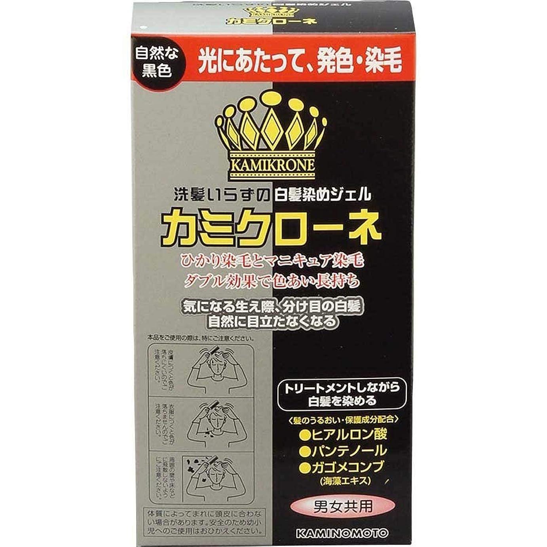 配列インフラ配列加美乃素 カミクローネ ナチュラルブラック 80ml×6個