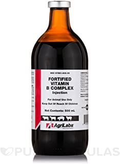 Fortified Vitamin B Complex, 500mL (injectable)