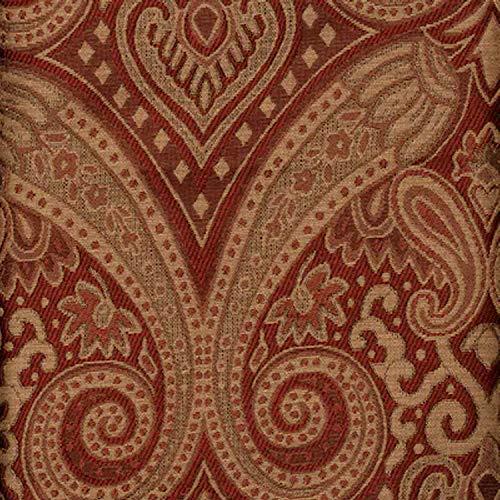 Style Selections Pole Top Valance Raja Paprika 54'x16'