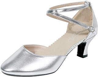 Women Fashion High Heel Sandals ❀ Ladies Fashion Dancing Rumba Waltz Prom Ballroom Latin Salsa Dance Shoes Sandals