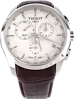 T0354391603100 Tissot Couturier GMT White Dial Mens Watch