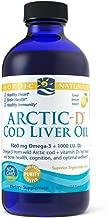 Nordic Naturals - Arctic-D CLO, Heart and Brain Health, and Optimal Wellness, Lemon, 8 Ounces