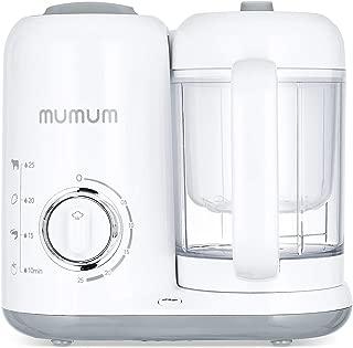 MUMUM Pro Baby Food Maker   4-in-1 with Defroster, Steamer, Cooker & Blender