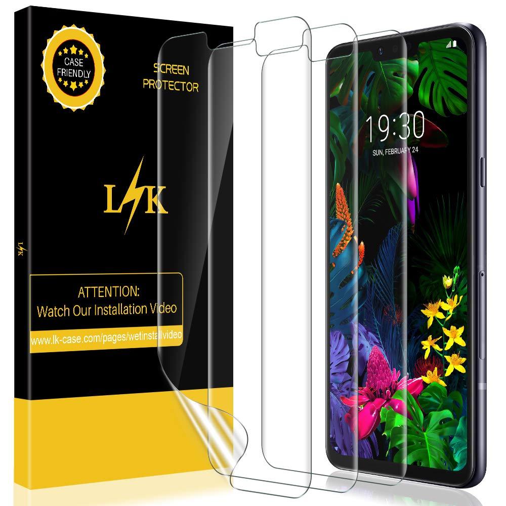 LK Protector de Pantalla para LG G8 ThinQ, [3 Piezas] [Nueva ...