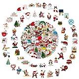 Enibon Paquete de Pegatinas Vsco 100PCS, Pegatinas Tumblr Aesthetic Stickers Vinales PVC Impermeable para ordenador portatil, Casco moto, Maleta, Bicicleta, Snowboard, Calcomanías para Adorno Navidad